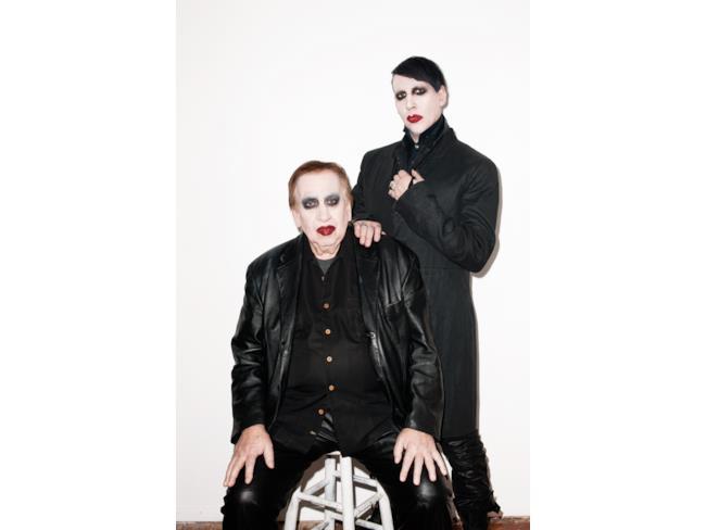 Marilyn Manson e suo padre