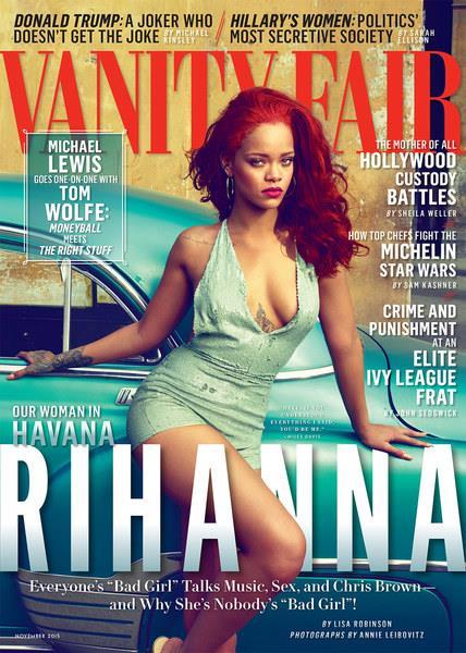 Rihanna conturbante in copertina