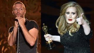 Classifica canzoni 11 novembre 2015, è Adele VS Coldplay