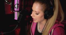 Primo piano di Avril Lavigne