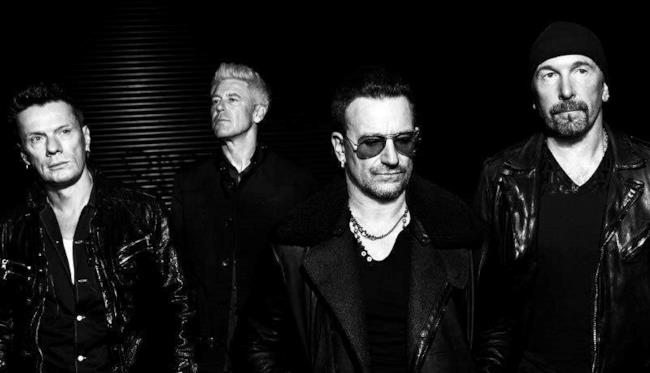 Bono, The Edge, Larry Mullen e Adam Clayton
