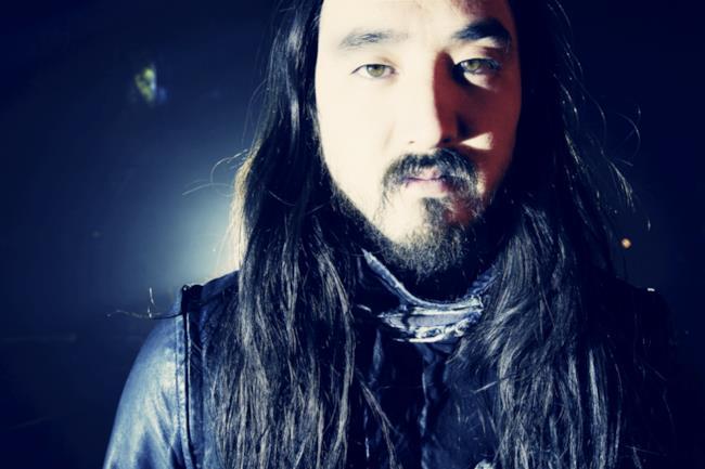 Il Dj nippo-americano Steve Aoki