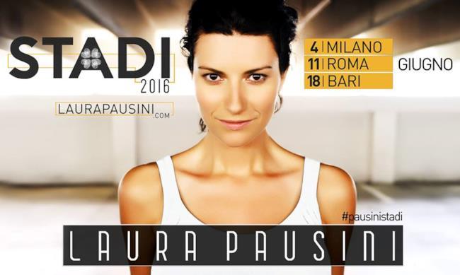 Locandina #PausiniStadi tour 2016