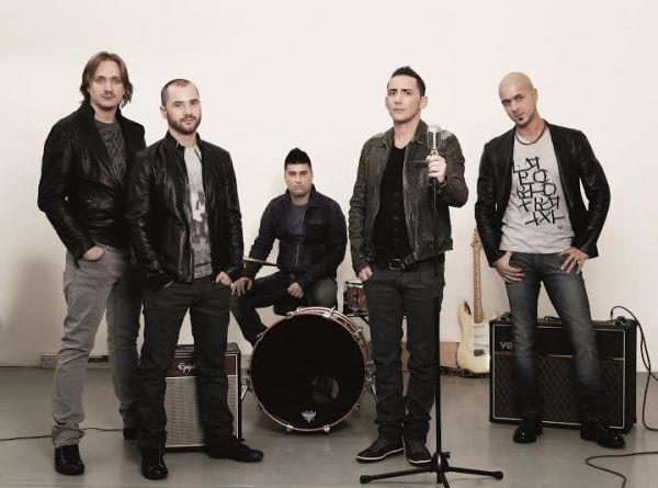 I 5 componenti dei Modà al lavoro per il nuovo album