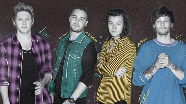 Liam Payne, Harry Styles, Louis Tomlinson e Niall Horan