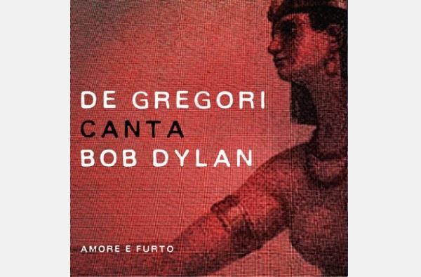 La copertina del nuovo disco di De Gregori