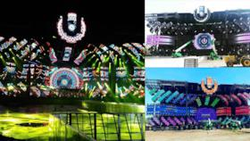 Il MainStage 2017 dell'Ultra Music Festival 2017