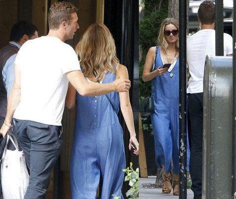 Chris Martin e Annabelle Wallis insieme per le strade di New York