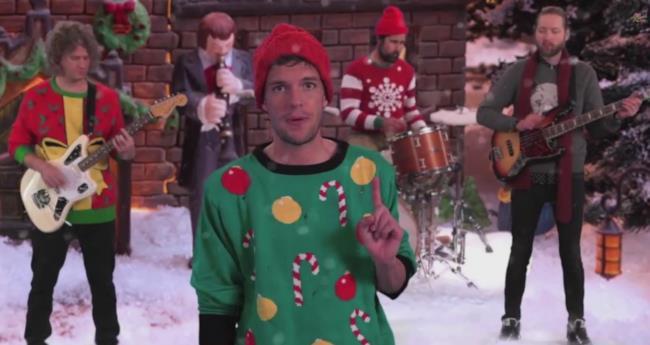 The Killers video di Natale 2014 Joel The Lump Of Coal
