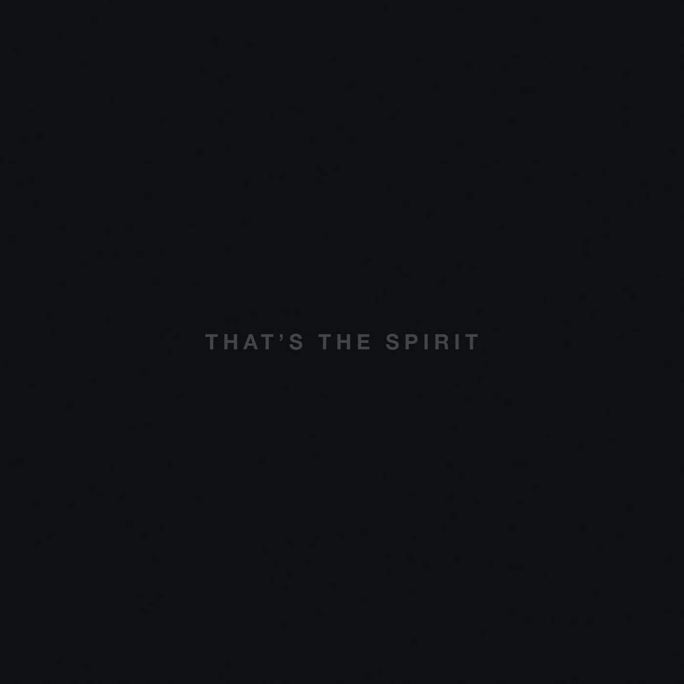 That's The Spirit Album Cover