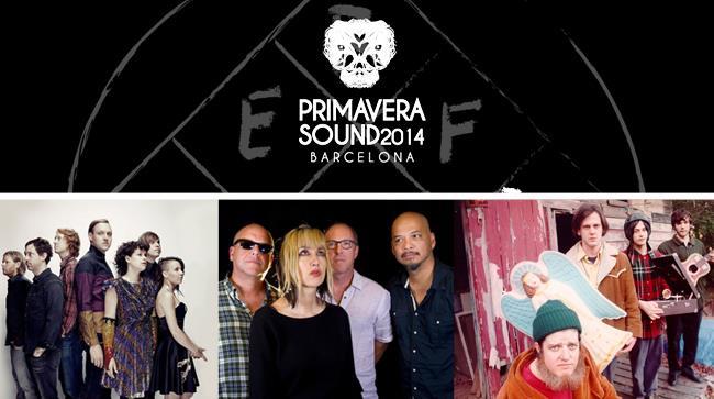 Arcade Fire, Pixies e Natural Milk Hotel sulla copertina della Primavera Sound 2014