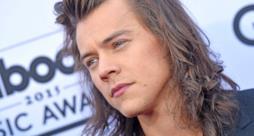 Harry Styles con i capelli lunghissimi