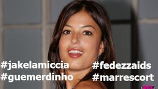 Sara Tommasi su Facebook contro Fedez, Marracash, Gue Pequeno e Jake La Furia