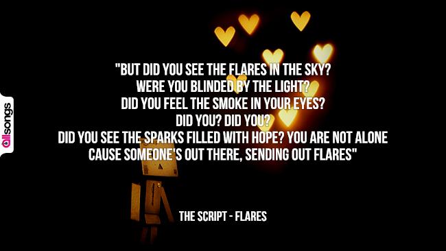The Script: le migliori frasi dei testi delle canzoni