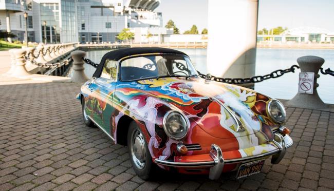 La Porsche di Janis