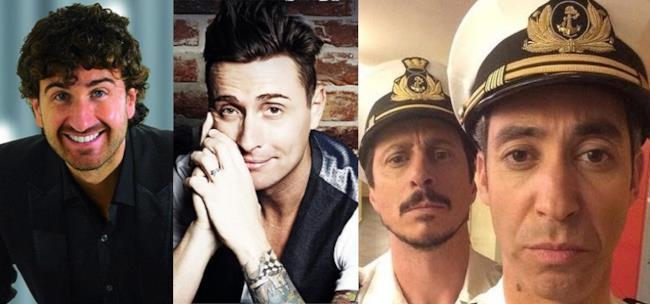 Alessandro Siani, Angelo Pintus, Luca & Paolo