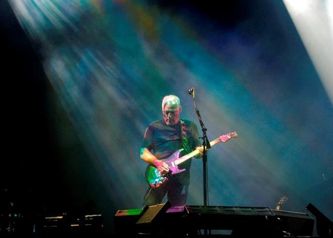 David Gilmour sul palco