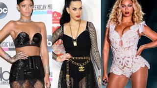 Rihanna, Katy Perry e Beyoncé