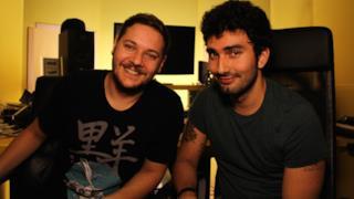 I Marnik in studio durante la videointervista per EDM Italy