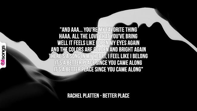 Rachel Platten: le migliori frasi dei testi delle canzoni
