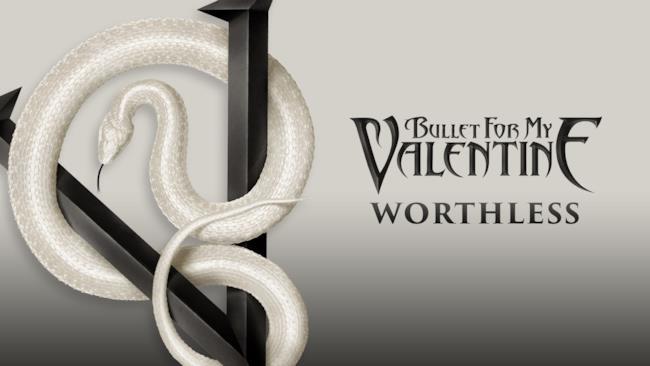 La copertina dell'album Venom dei Bullet For My Valentine, da cui è tratto il singolo Worthless