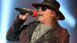 Axl Rose del Guns N' Roses