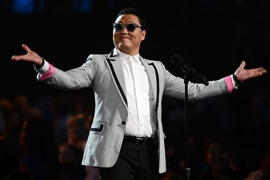 Il cantante coreano Psy