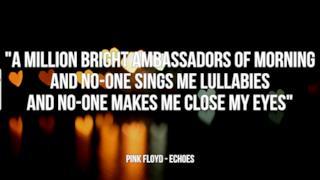 Pink Floyd: le migliori frasi dei testi delle canzoni
