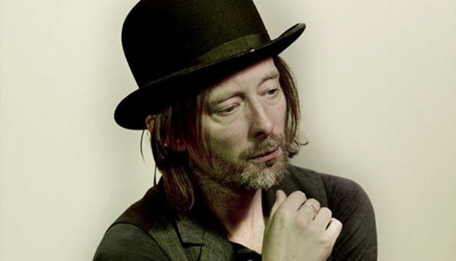 Thom Yorke primo piano