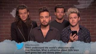 One Direction leggono i mean tweets