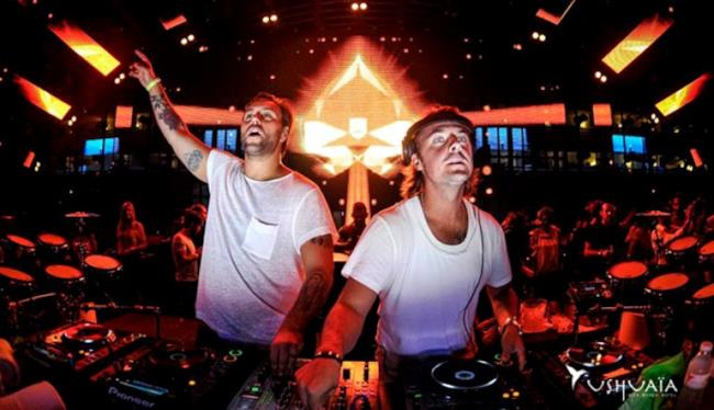 Axwell Ʌ Ingrosso all'Ushuaïa di Ibiza