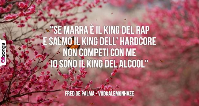 abbastanza Fred De Palma: le migliori frasi dei testi delle canzoni | AllSongs BB46