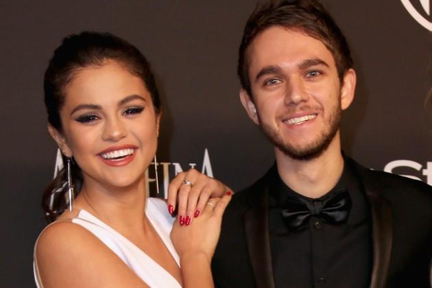 Selena Gomez e Zedd ai Golden Globe 2015