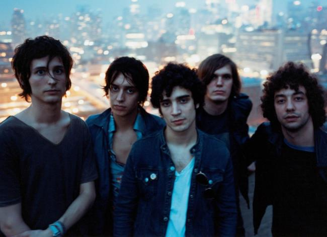La band indie rock The Strokes