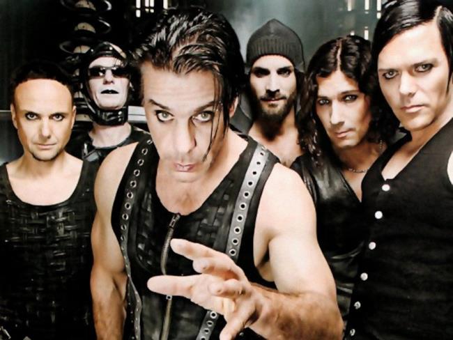 La band industrial metal tedesca Rammstein