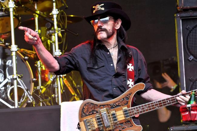 Il cantante dei Motorhead, Lemmy