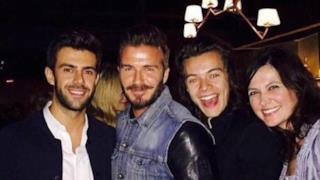Harry Styles e David Beckham