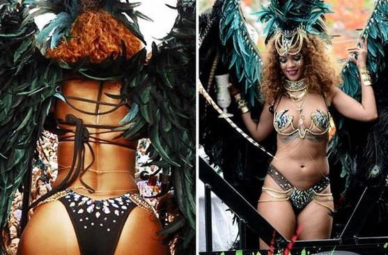 Rihanna sexy alle Barbados