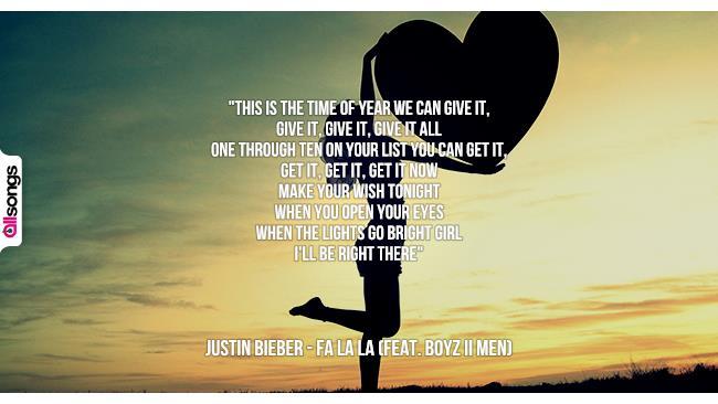 Justin Bieber: le migliori frasi delle canzoni