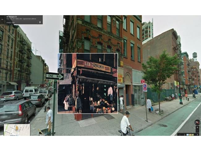 Paul's Boutique in Street View