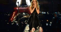 Celine Dion sul palco degli American Music Awards 2015