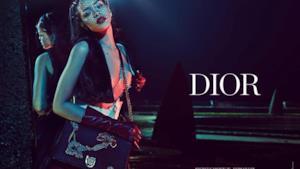 Una sexy Rihanna testimonial Dior nella campagna Secret Garden 4