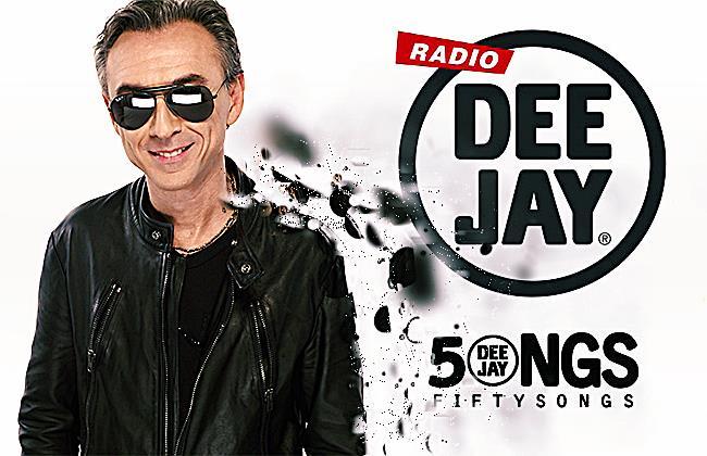 La classifica delle canzoni più passate su  Radio Deejay a Dicembre 2014