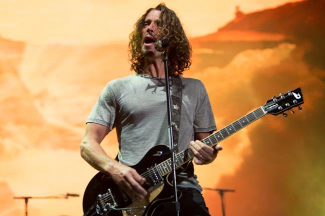 Il musicista Chris Cornell