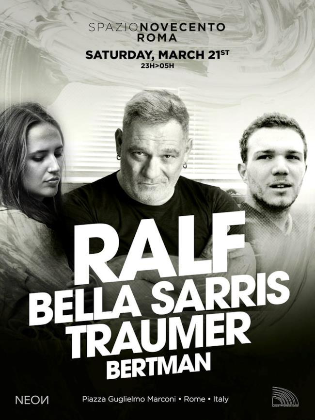 Ralf sarà ospite insieme a Traumer allo Spazio 900