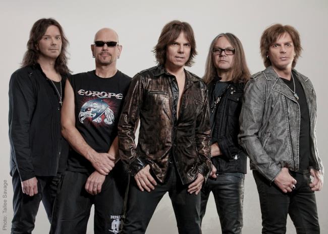 Europe, la band nel 2015