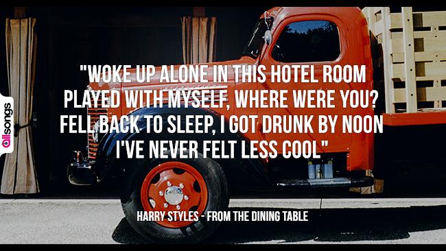 Harry Styles: le migliori frasi dei testi delle canzoni