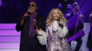 Madonna e Stevie Wonder