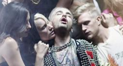 Immagine del video dei Tokio Hotel con orgia