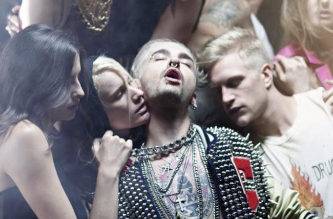 Immagine del video dei Tokio Hotel con orgia